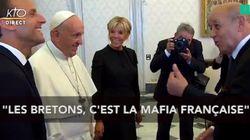 Devant le Pape, Emmanuel Macron présente les Bretons comme