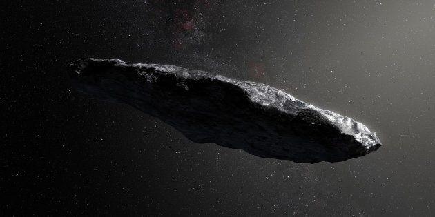 Le visiteur interstellaire Oumuamua n'est finalement pas un