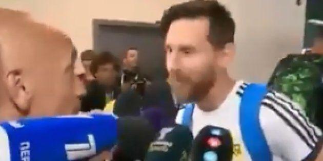 Coupe du Monde 2018 : Lionel Messi a gardé le porte-bonheur que lui a offert ce journaliste qui n'en...
