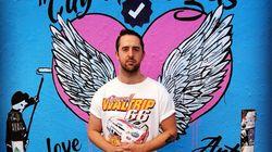 Le réalisateur à l'origine du très polémique graffiti réservé aux stars des réseaux sociaux