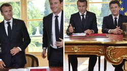 L'astuce de Macron pour avoir l'air plus grand que