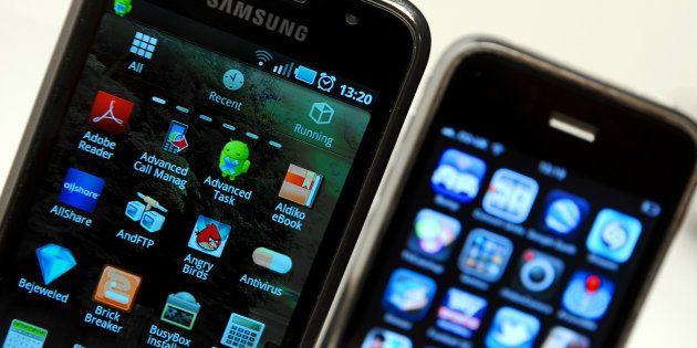 Apple et Samsung règlent une dispute vieille de sept ans sur
