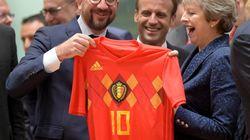 Le match Angleterre-Belgique s'est invité au Conseil