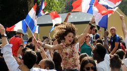 Les buts de France - Argentine, vécus par les