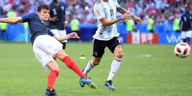 Benjamin Pavard s'est fait un nom en bleu avec cette magnifique demi-volée pendant France-Argentine à...