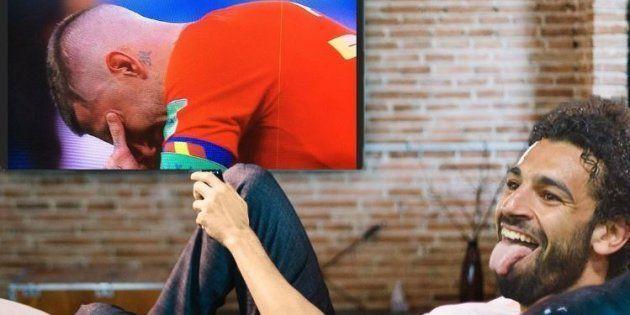 Espagne-Russie: Les larmes de Segio Ramos valent le