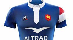 Le nouveau maillot du XV de France marque le retour du Coq Sportif, absent depuis