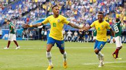 La performance de Neymar permet au Brésil d'éliminer le