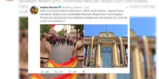 L'eurodéputée Nadine Morano est visée par une plainte pour injure homophobe et transphobe après ce