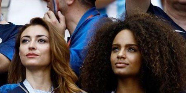 Rachel Legrain-Trapani et Alicia Aylies, deux anciennes Miss France présentes en Russie pour soutenir...