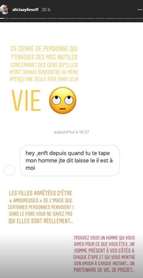 Capture d'écran Instagram