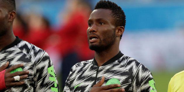 John Obi Mikel, capitaine du Nigeria, à la Coupe du Monde