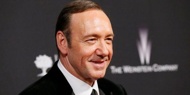 Kevin Spacey après les Golden Globe à la The Weinstein Company & Netflix after party à Beverly Hills,...