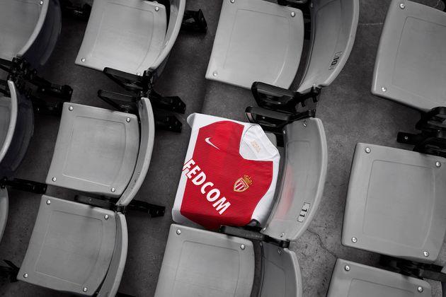L'AS Monaco dévoile son nouveau maillot domicile