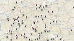 La carte des 3275 radars fixes sur tout le territoire