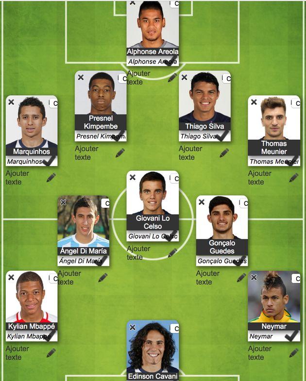 Le 11 caché du PSG aux huitièmes de finale de la Coupe du monde