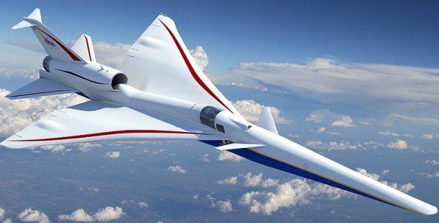 La Nasa va tester un avion supersonique