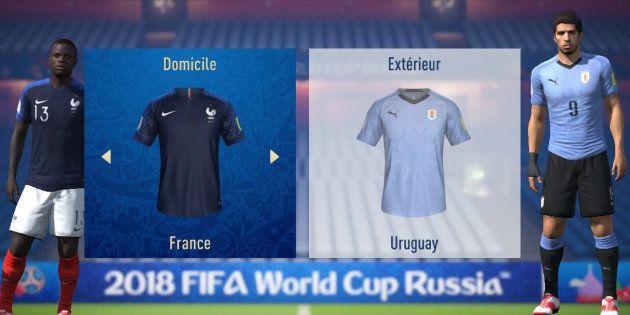 France-Uruguay à la Coupe du monde 2018: l'intelligence artificielle