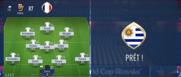 France-Uruguay à la Coupe du monde 2018: L'intelligence artificielle de