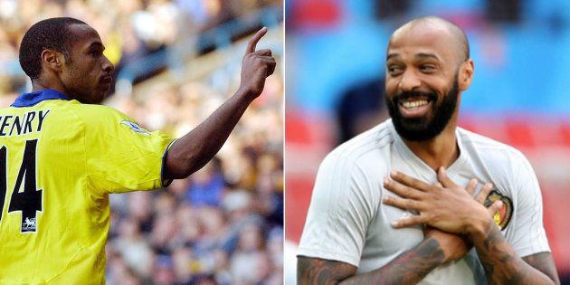 Brésil-Belgique à la Coupe du monde 2018: Impassible quand il jouait, Thierry Henry est beaucoup plus...