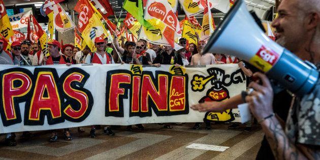 La CGT prévoit une nouvelle grève à la SNCF le 19