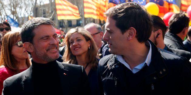 Manuel Valls candidat à la mairie de Barcelone pour le parti Ciudadanos d'Albert Rivera? Le HuffPost...