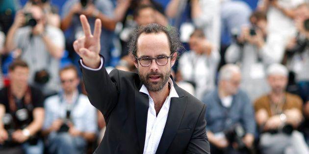 Cédric Herrou (ici à Cannes), l'agriculteur devenu le symbole de l'aide aux migrants à la frontière franco-italienne,...