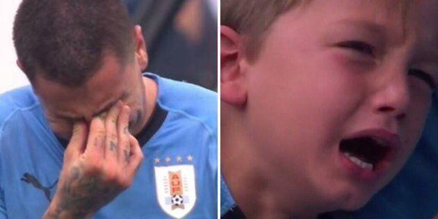 Match France - Uruguay: les larmes uruguayennes nous feraient presque regretter leur défaite (ou