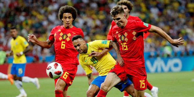 La Belgique bat le Brésil et affrontera la France en demi-finale de la Coupe du monde
