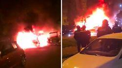 Les images de la quatrième nuit de violences à Nantes après la mort d'Aboubakar