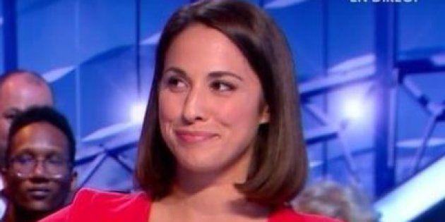 La journaliste Charlotte