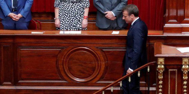 Le satisfecit de Macron au Congrès sur #MeToo ne passe