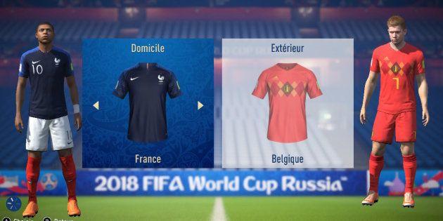 France-Belgique à la Coupe du monde 2018: l'intelligence artificielle de Fifa 18 donne un avantage aux