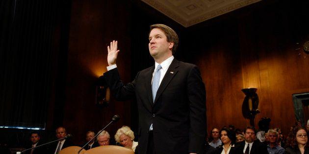 Le juge conservateur Brett Kavanaugh en mai