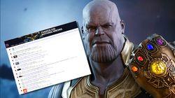 Il est arrivé quelque chose de terrible à ces 350.000 fans de Thanos dans
