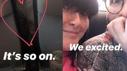 Comment l'histoire d'une belle rencontre dans un avion a tourné au