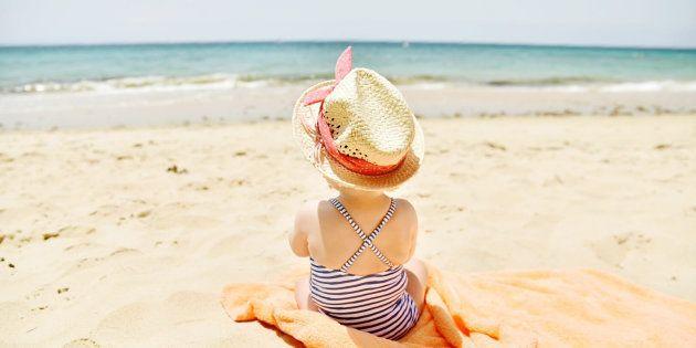 Mes 5 astuces pour aller à la plage avec un bébé.
