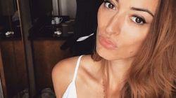 L'ancienne Miss France Rachel Legrain Trapani se moque amoureusement de Pavard avant la