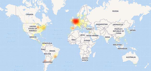 Facebook est en panne chez vous? Vous n'êtes pas