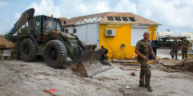 Défilé du 14 Juillet: dix mois après l'ouragan Irma, les secours mis à
