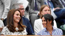 Meghan Markle et Kate Middleton entre belles-sœurs dans les tribunes de