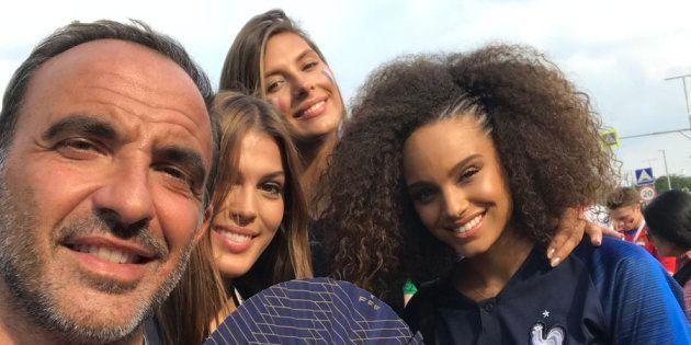 Omar Sy, Teddy Riner, les Miss France, Nikos... Les people étaient à Moscou pour voir les Bleus devenir...