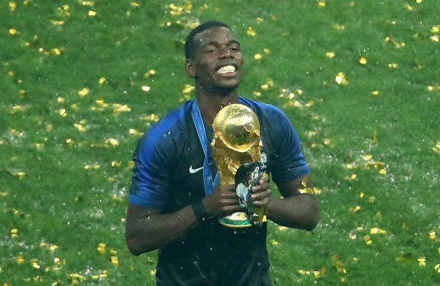 La France est championne du monde: l'hommage de Pogba a son papa