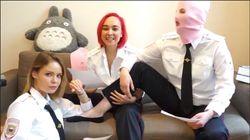 La vidéo des Pussy Riot qui expliquent leur intrusion sur le terrain pendant