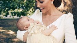 La famille royale dévoile les photos du baptême du prince