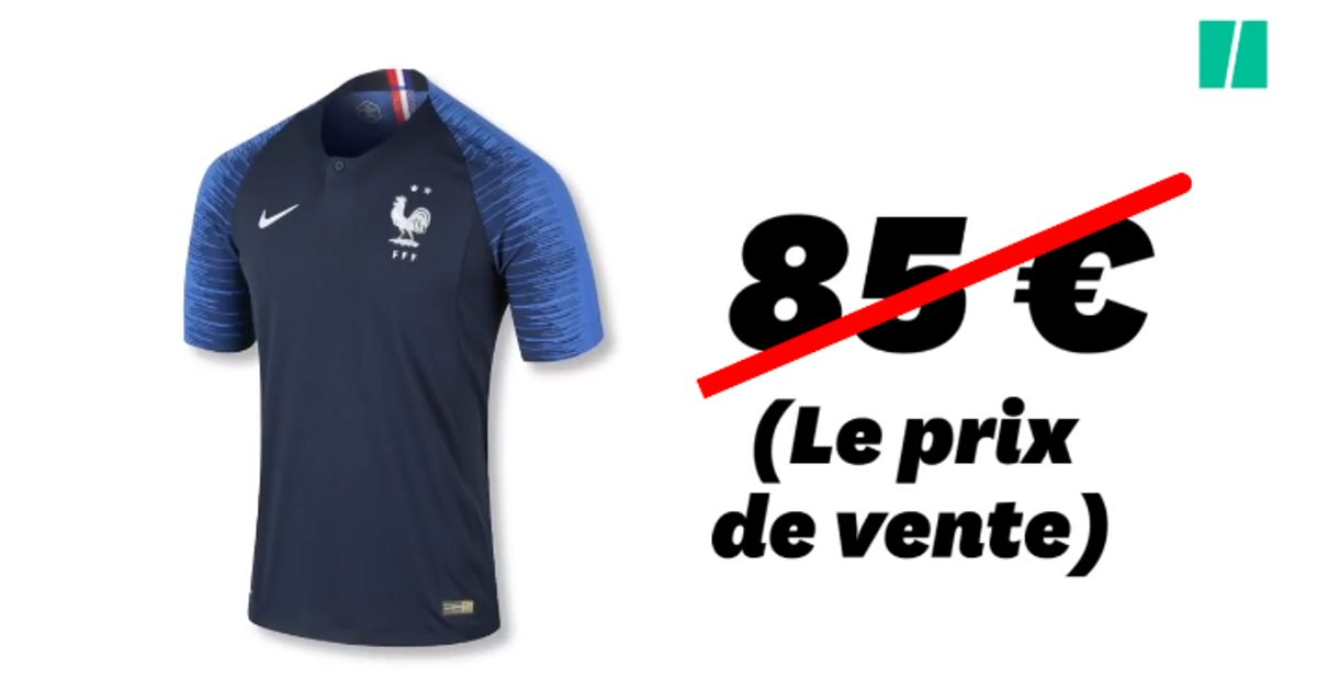 509050f1ec17f Maillot de l'Équipe de France: Combien coûte vraiment la fabrication de la  tunique aux deux étoiles?   Le Huffington Post