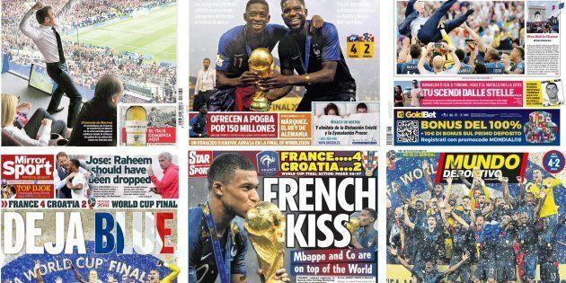 La France championne du Monde: concours de jeux de mots dans la presse étrangère après la victoire des