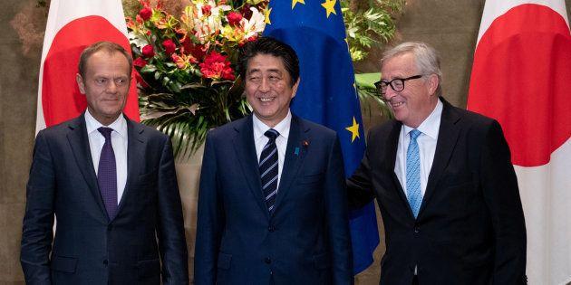 En réponse au protectionnisme de Trump, l'UE et le Japon signent un