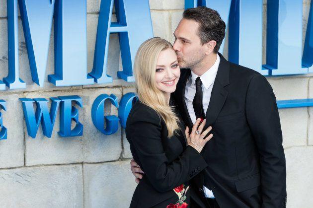 Amanda Seyfried et son mari Thomas Sadoski complices à l'avant-première de