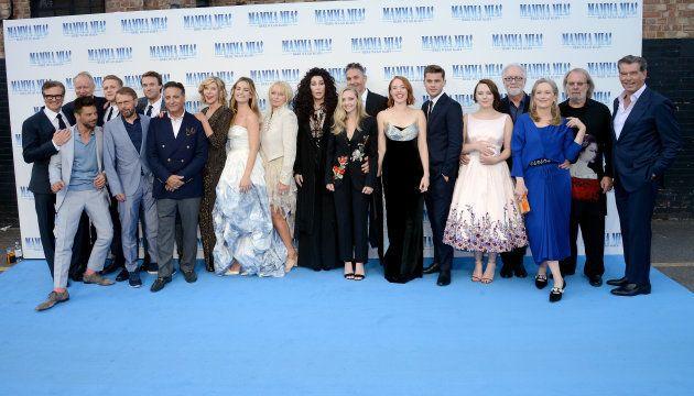 Colin Firth, Stellan Skarsgard, Dominic Cooper, Josh Dylan, Bjorn Ulvaeus, Hugh Skinner, Andy Garcia,...